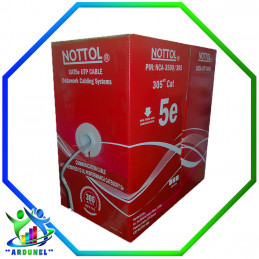 CABLE UTP CAT-5E NOTTOL 305MTS