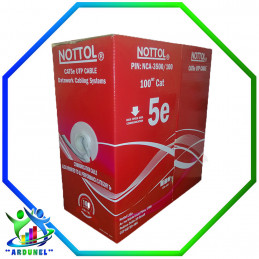 Cable UTP CAT-5E nottol 100Mts